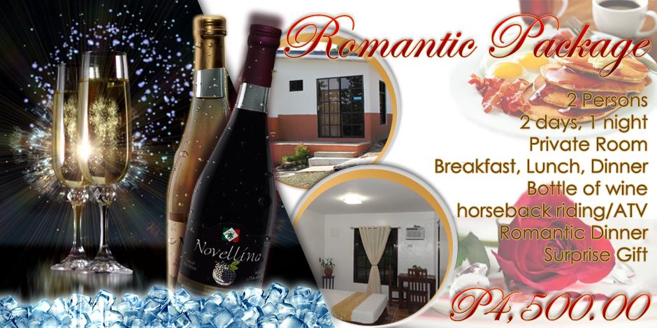 dfd631d0557 Romantic Package